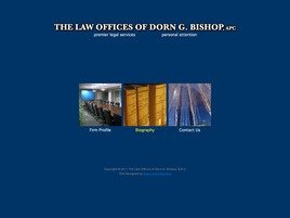 Firm Logo for The Law Offices of Dorn G. Bishop A.P.C.