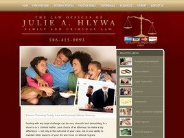 Firm Logo for The Law Offices of Julie A. Hlywa