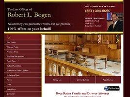 Firm Logo for The Law Offices of <br />Robert L. Bogen, P.A.