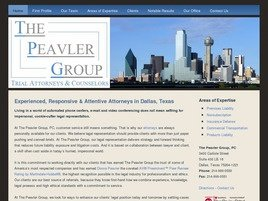 Firm Logo for The Peavler Group P.C.