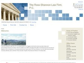 Firm Logo for The Ross-Shannon Law Firm, P.C.