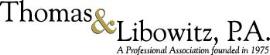 Firm Logo for Thomas Libowitz P.A.