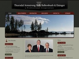 Thorndal Armstrong Delk <br />Balkenbush & Eisinger <br />A Professional Corporation Law Firm Logo