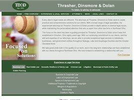 Firm Logo for Thrasher Dinsmore Dolan A Legal Professional Association