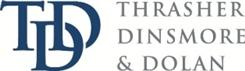 Thrasher, Dinsmore & Dolan <br />A Legal Professional Association Law Firm Logo