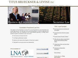 Firm Logo for Titus Brueckner & Levine PLC