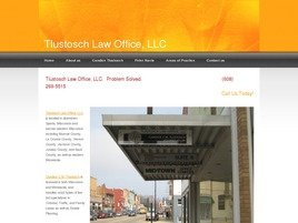 Tlustosch Law Office, LLC Law Firm Logo