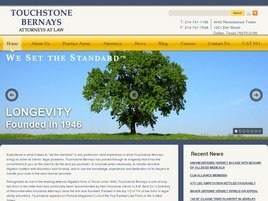 Touchstone Bernays <br />Attorneys at Law Law Firm Logo