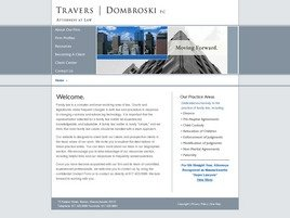 Travers | Dombroski PC Law Firm Logo