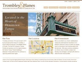 Firm Logo for Trombley & Hanes