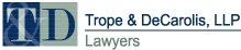 Trope & DeCarolis, LLP Law Firm Logo