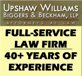 Upshaw, Williams, Biggers <br />& Beckham, LLP Law Firm Logo