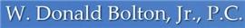 Firm Logo for W. Donald Bolton, Jr., P.C.