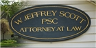 Firm Logo for W. Jeffrey Scott, PSC