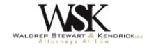 Waldrep Stewart & Kendrick, LLC Law Firm Logo