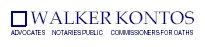 Walker Kontos Advocates Law Firm Logo
