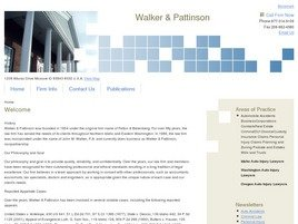 Walker & Pattinson Law Firm Logo