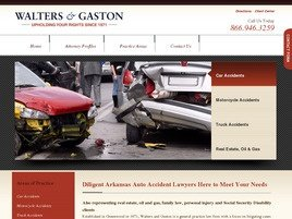 Firm Logo for Walters and Gaston