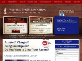 Warren J. Breslin Law Offices Law Firm Logo