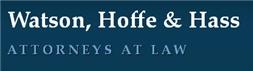 Firm Logo for Watson Hoffe Hass