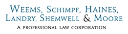 Firm Logo for Weems, Schimpf, Haines, Landry, Shemwell & Moore (APLC)