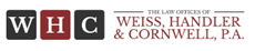 Weiss, Handler & Cornwell, P.A. Law Firm Logo