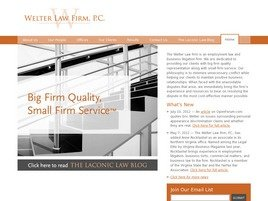 Firm Logo for Welter Law Firm, P.C.