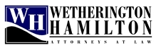 Wetherington Hamilton, P.A. Law Firm Logo