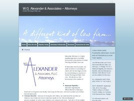 Firm Logo for WG Alexander Associates PLLC