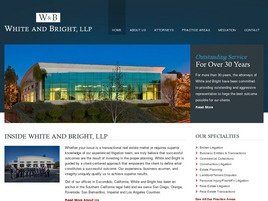 Firm Logo for White and Bright, LLP
