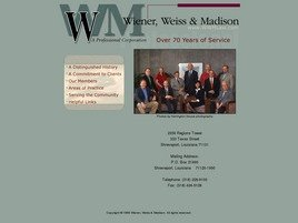 Firm Logo for Wiener, Weiss & Madison <br />A Professional Corporation