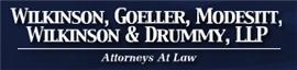 Firm Logo for Wilkinson, Goeller, Modesitt, <br />Wilkinson & Drummy