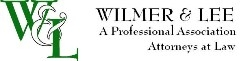 Wilmer & Lee, P.A. Law Firm Logo