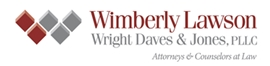 Wimberly Lawson Wright <br />Daves & Jones, PLLC Law Firm Logo
