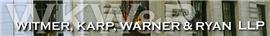 Firm Logo for Witmer Karp Warner Ryan LLP