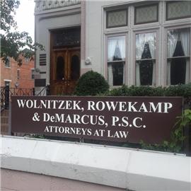 Wolnitzek, Rowekamp & DeMarcus, P.S.C. Law Firm Logo