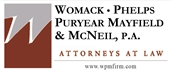 Firm Logo for Womack Phelps Puryear <br />Mayfield & McNeil, P.A.