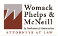 Womack, Phelps & McNeill <br />A Professional Association Law Firm Logo