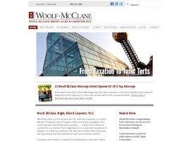 Woolf, McClane, Bright, Allen <br />& Carpenter, PLLC Law Firm Logo