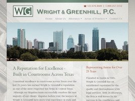Wright & Greenhill, P.C. Law Firm Logo