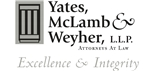 Firm Logo for Yates, McLamb & Weyher, L.L.P.