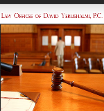 Law Offices of <br />David Yerushalmi, P.C. Law Firm Logo
