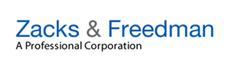Zacks & Freedman, P.C. Law Firm Logo