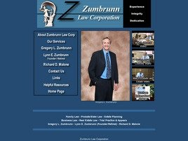 Zumbrunn Law Corporation Law Firm Logo